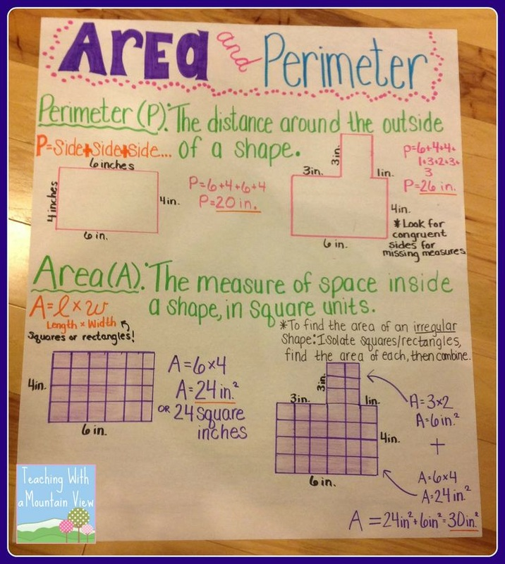 Area and Perimeter Ms Postons 3rd Grade Class – Area and Perimeter of Irregular Shapes Worksheet